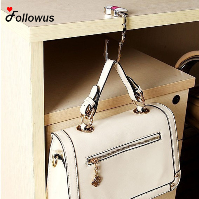 2017 New Arrival 5 Pcs Foldable Table Purse Hook Bag Hanger Handbag Holder Cute Dots Colorful Owl In Parts Accessories From