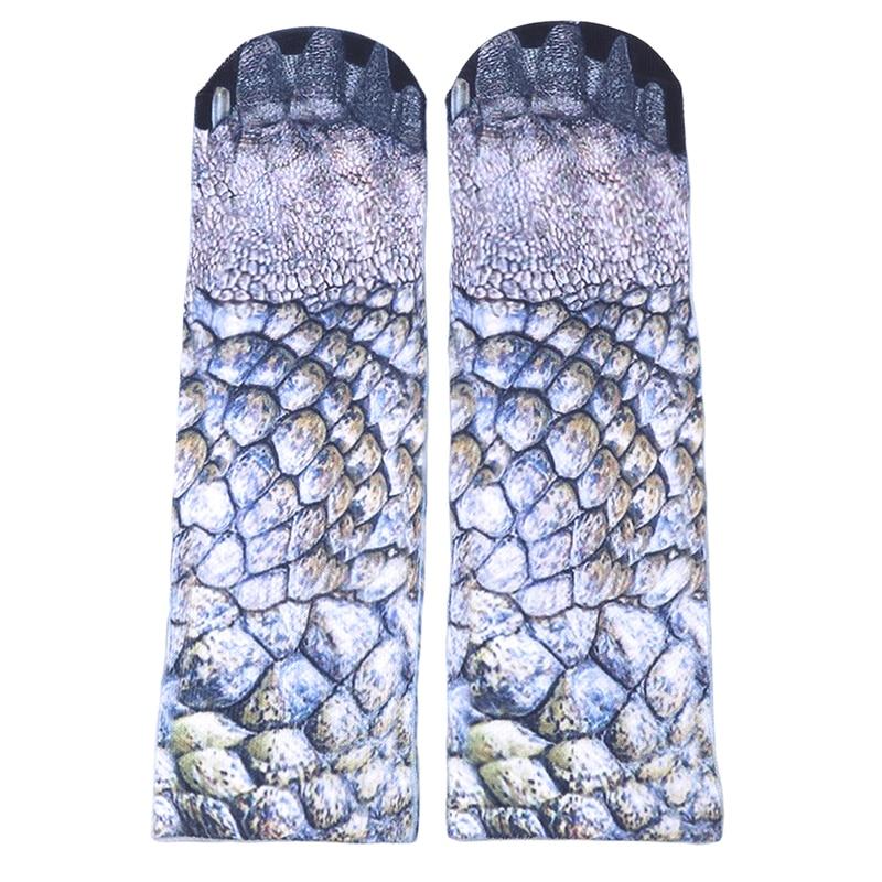Harajuku Women Socks 3D Print Dinosaur Tiger Fantastic Anilam Paw Socks 10 Patterns Women Kawaii Cute Casual Popular Ankle Women
