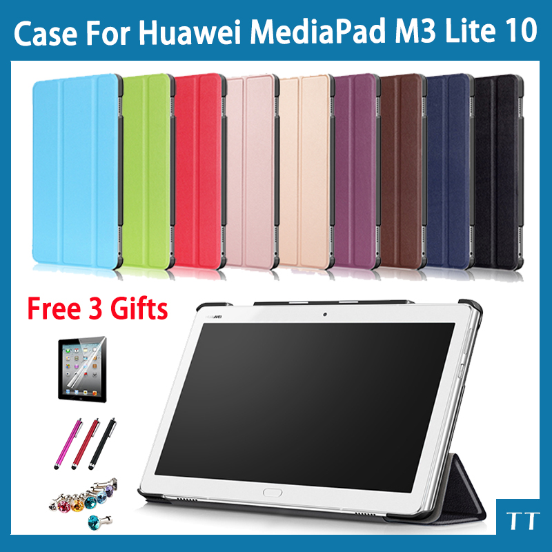 Case for 2017 Huawei MediaPad M3 Lite 10 Tablet Protective Cover Case for Huawei M3 10