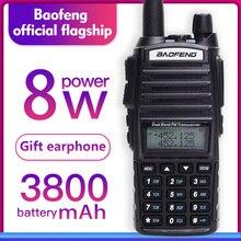 Talkie walkie Baofeng UV 82 double bande 136 174MHZ 400 520MHZ 8W et 5W baofeng uv 82 radio bidirectionnelle baofeng 82 uv82 hp