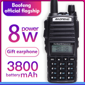 Image 1 - Walkie talkie baofeng uv 82 banda dupla 136 174 mhz 400 520 mhz 8 w e 5 w baofeng uv 82 ham rádio em dois sentidos baofeng 82 uv82 hp