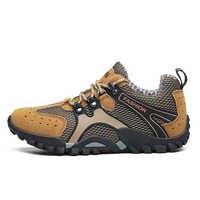 Zapatos de senderismo de talla grande 38-46 para hombre, zapatos transpirables para senderismo al aire libre, zapatillas de deporte para hombre, zapatos de escalada de montaña
