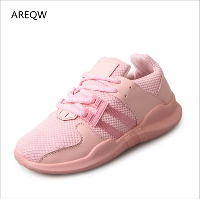AREQW 2017 Fashion Women Casual Shoes Summer Comfortable Breathable Mesh Flats Female Platform Shoes Woman free shipping fashion loss weight women shoes spring summer autumn swing female breathable mesh shoes women casual shoes 2717w