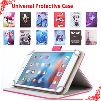 Universal Cover For Prestigio Grace 3118 3318 3G 8 Inch Tablet Printed PU Leather Stand Case