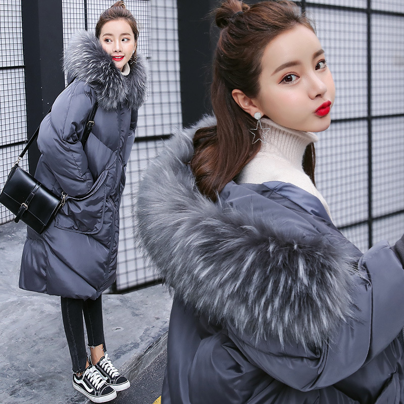 Maternity Coat Winter Pregnant Woman Clothing Fur Collar Cotton-padded Clothes Loose Coats Pregnancy Jacket Plus Size L/XL/2XL maternity women winter down coat jacket large medium length parka fur collar pregnant thick hooded coats plus size l 2xl e629