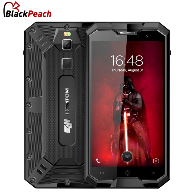 "HOMTOM ZOJI Z8 IP68 Waterproof 4G Smartphone 5.0"" HD MTK6750 Octa Core Android 7.0 4GB+64GB 4250mAh 16MP Cam OTG Mobile Phone"