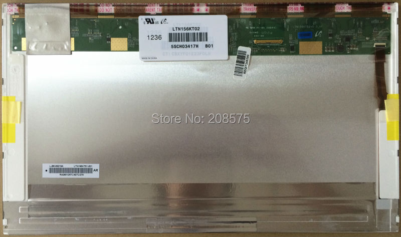 Free Shipping ! Brand new 15.6 inch LED Screen LTN156KT02 LP156WD1 TLB2 / TLB3 B156RW01 V.1 N156O6-L01 free shipping brand new 12w g24 e27 led
