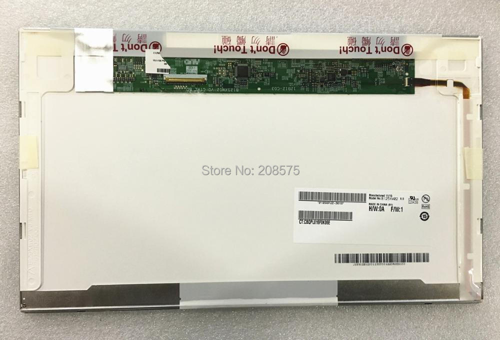 Free shipping B125XW02 V.0 LTN125AT02 LP125WH1 Fit For HP 2560p 2570p Laptop Lcd Screen 1366*768 40pin цена