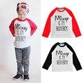 Дети футболки Футболки Roupas infantis menino Детская одежда с длинным рукавом roupas рубашка для детей мальчики футболка девушки одежда