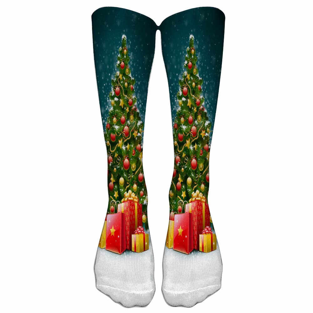 Бесплатная страуса стильный 2 пары цвет tie dye сжатия футбольные носки печатных пони Рождество выражение спортивные носки