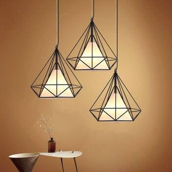 Style européen fer pendentif lumières art invité café salle restaurant badroom éclairage créatif restaurant personnalité lampes ZA