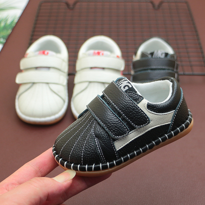 New Spring New Children's Casual Shoes Baby Boys Shoes Genuine Leather Soft Bottom Toddler Casual Shoe