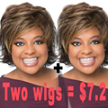 Short Synthetic Wigs For Black Women African American Short Wigs Short Pixie Hair African American Wigs