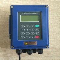 Ультразвуковой расходомер настенный расходомер жидкости IP67 защиты TUF 2000B DN50mm DN700mm TM 1 датчиков