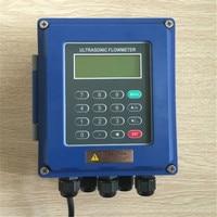 Ultrasonic flow meter wall mounted liquid flowmeter IP67 protection TUF 2000B DN50mm DN700mm TM 1 Transducer
