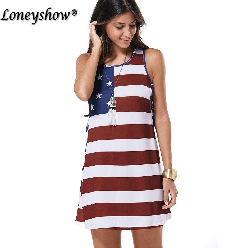 dd901198ad0f ... Print Patriotic Racerback Tank Dress Women Sleeveless Mini Dresses  Summer Casual USA Flag Dress Vestidos. Out Of Stock. 🔍 Previous