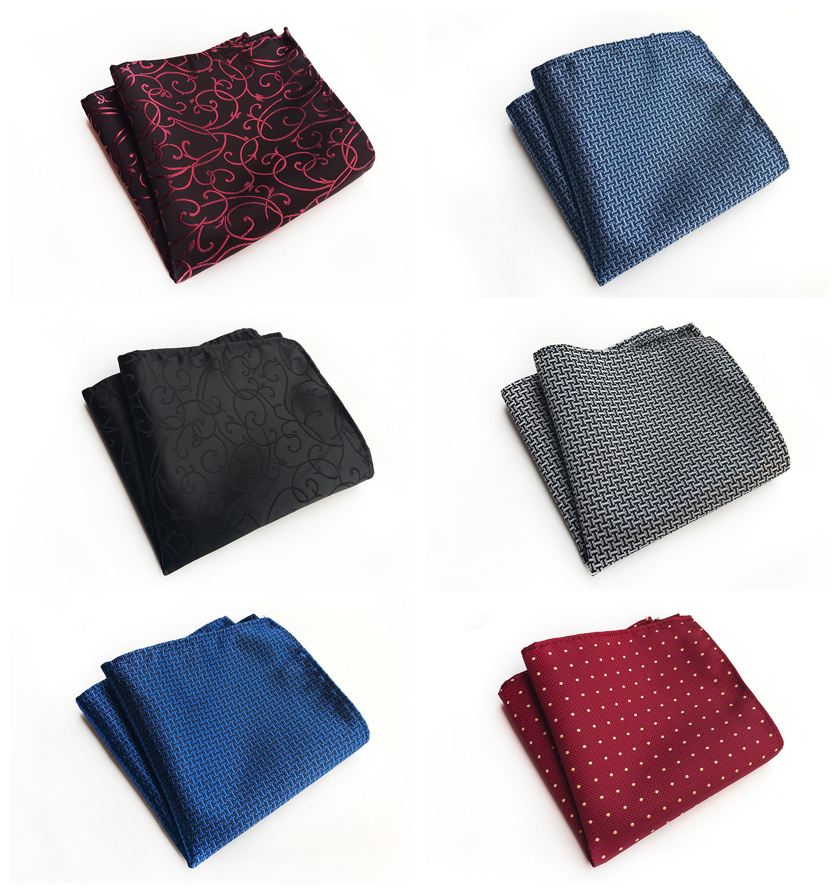 2020 Fashion Explosion Men's Business Suit Handkerchief Towel Fashion Unique Design Polyester Material Dress Pocket Towel