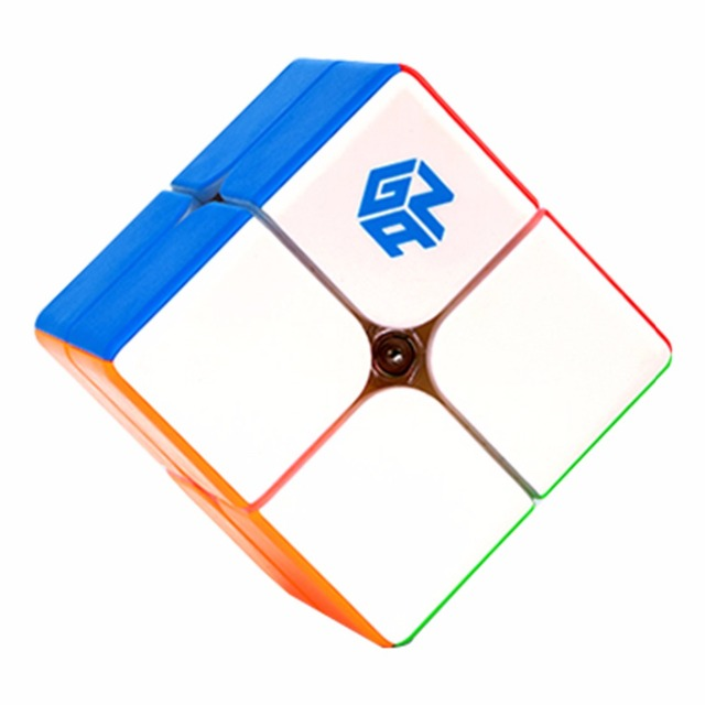 GAN249 V2 M 2x2x2 puzzle cube 2x2 Speed Magic Cube Puzzle V2 M Magnetic Professional cubo magico Twist Educational Toys for Kids 4