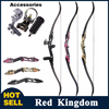 3 Color 30 50lbs Recurve Bow 56 Inches American Hunting Bow With 17 Inches Riser For