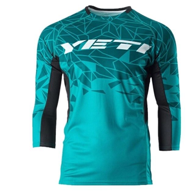 Wholesale For YETI Winter Motocross Racing Jersey Riding Team Downhill Jersey  Mountain Bike Motorcycle Jersey Shirt J-in Shirts   Tops from Automobiles  ... a9c38137d
