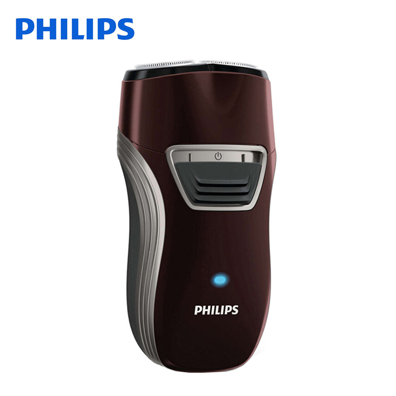 Original Philips Electric Shaver PQ216 Rotary Rechargeable With Two Floating Heads for Men's Electric Razor naturehike factory store 2 person tent 20d silicone fabric double layer camping tent lightweight only 1 24kg dhl free shipping