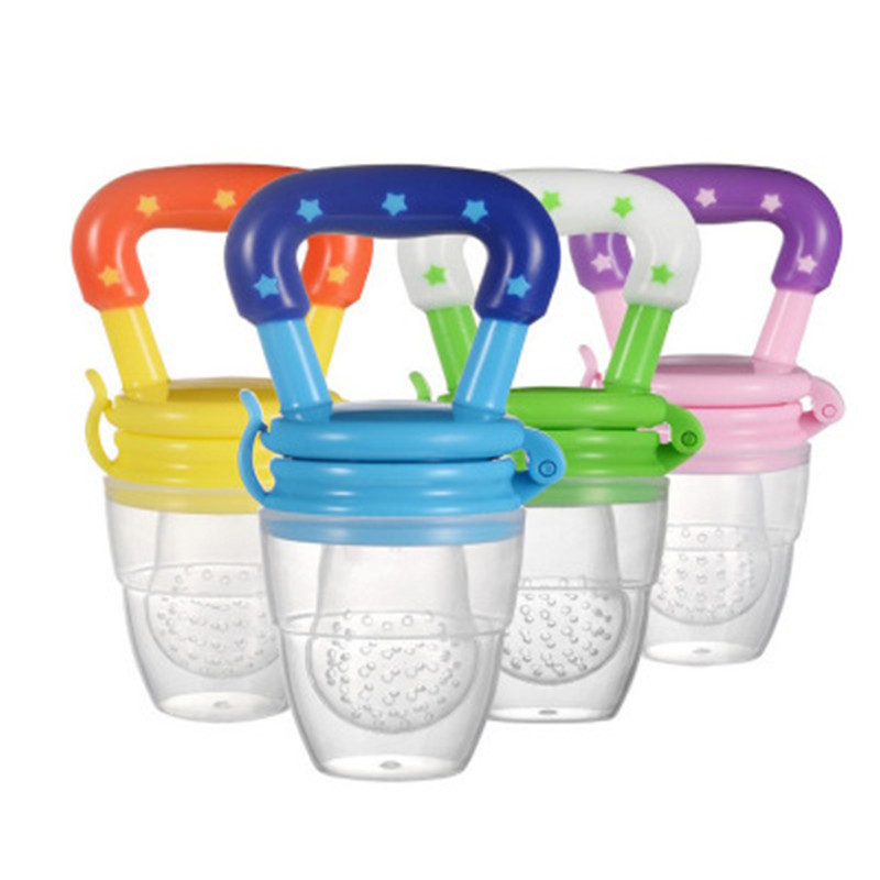 New  Baby Pacifier Safety Silicone Food Music Fruit And Vegetable Food Fruit Bite Bag Baby Eat Fruit Food Supplement