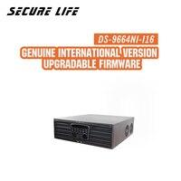 Precio DS-9664NI-I16 versión en inglés H.265 NVR 64CH soporta hasta 12MP Cámara, 16SATA para 16HDDs HMDI1 hasta 4K NVR RAID