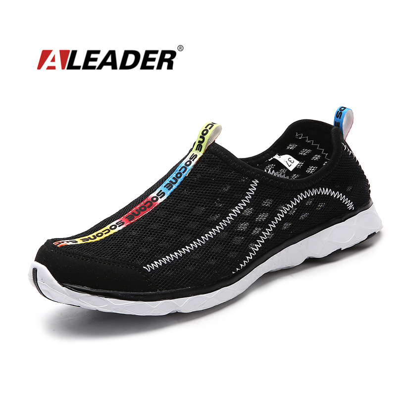2017 Breathable Women Shoes Summer Mesh Lightweight Shoe Women Slip On Shoes Casual Walking Water Shoes Outdoor zapatillas 36-47 instantarts cute cat puzzle casual air mesh flat shoes women teen girl summer breathable slip on walking sneakers adult zapato