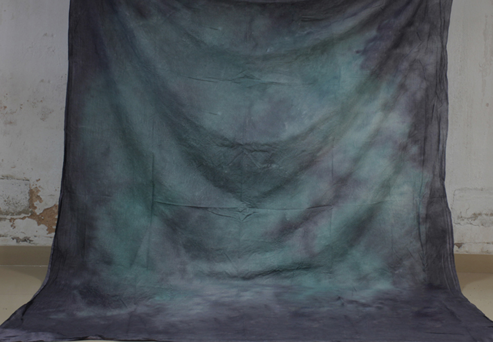 Hand Dyed Black Green Muslin Photo Backdrop Cotton Hand Painted Background Glare-Free Photography Studio Screen 7x10ft XY-05 батарейки energizer c