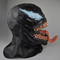 Venom Mask Spider Man Comic Inspired Cosplay One Size For Adult 3