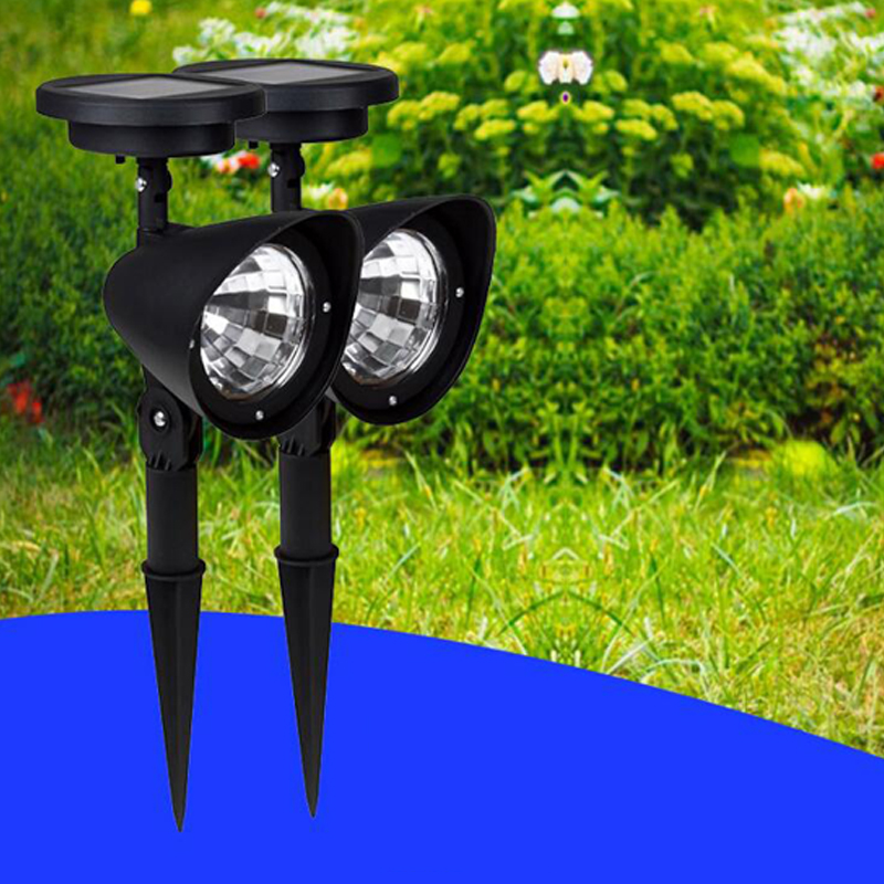 4 LED Solar Powered Lamp Lawn Garden Light Outdoor LED Solar Lights Waterproof Led Spotlights For Garden Decoration Lawn Lamp