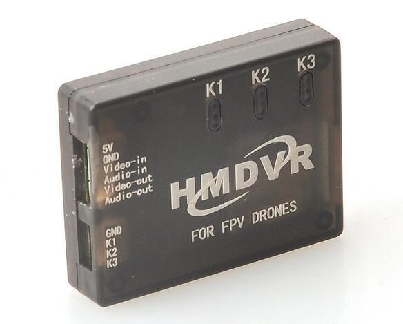 New Mini DVR Recorder HMDVR for FPV Drones Video Audio Recorder for Mini Quadcopter QAV250 QAV210 new hmdvr fpv through the machine for mini dvr video audio recorder