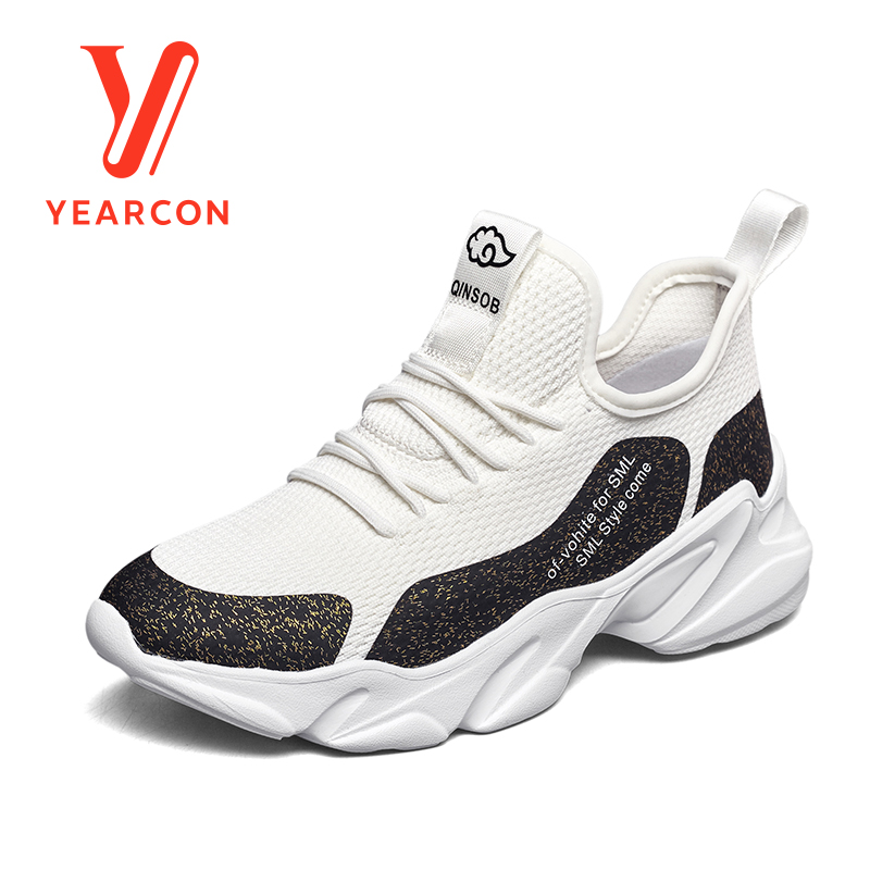 Yearcon women's vulcanize shoes for casual sport athletic fashion sneaker flats shoes 9161ZX49314W