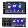 7 Double 2 Din Touchscreen In dash Car Stereo Radio Mp3 CD DVD Player FM Aux  dec 27