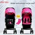 Portátil carrinho de criança dobrável leve Buggy carrinho de bebê criança pode sentar-se ou deitar nas quatro rodas choque carrinho