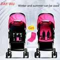 Portable folding stroller lightweight Buggy stroller baby child can sit or lie four-wheel buggy shock