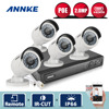 ANNKE HD 1080P NVR IP Network PoE Outdoor IR CCTV Home Security Camera System