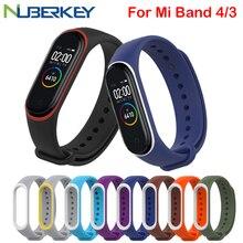 Armband für Xiaomi Mi Band 4 3 Sport Strap uhr Silikon handgelenk gurt Für xiaomi mi band 3 zubehör armband miband 4 Strap