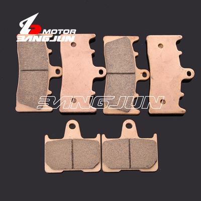 Motorcycle Front Rear Metal Brake Pads For <font><b>SUZUKI</b></font> <font><b>GSXR1000</b></font> <font><b>K1</b></font> 2000-2002 GSX1400 2001-2007 image
