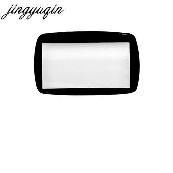 Cristal jingyuqin 20 piezas para Starline A6/A9/A8/A4 2 vías LCD mando a distancia llavero cubierta de cristal + cinta adhesiva de doble cara