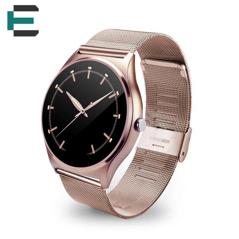 E T MTK2502C 1 22 TFT G F touch screen NFC Smart band watch for iphone