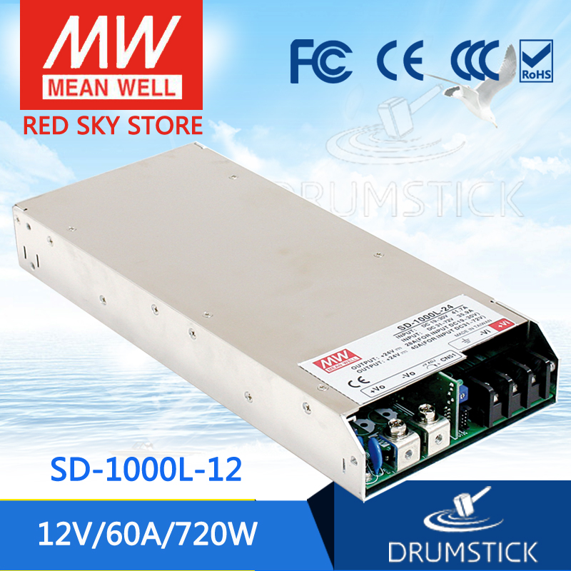 цена на Advantages MEAN WELL SD-1000L-12 12V 60A meanwell SD-1000 12V 720W Single Output DC-DC Converter
