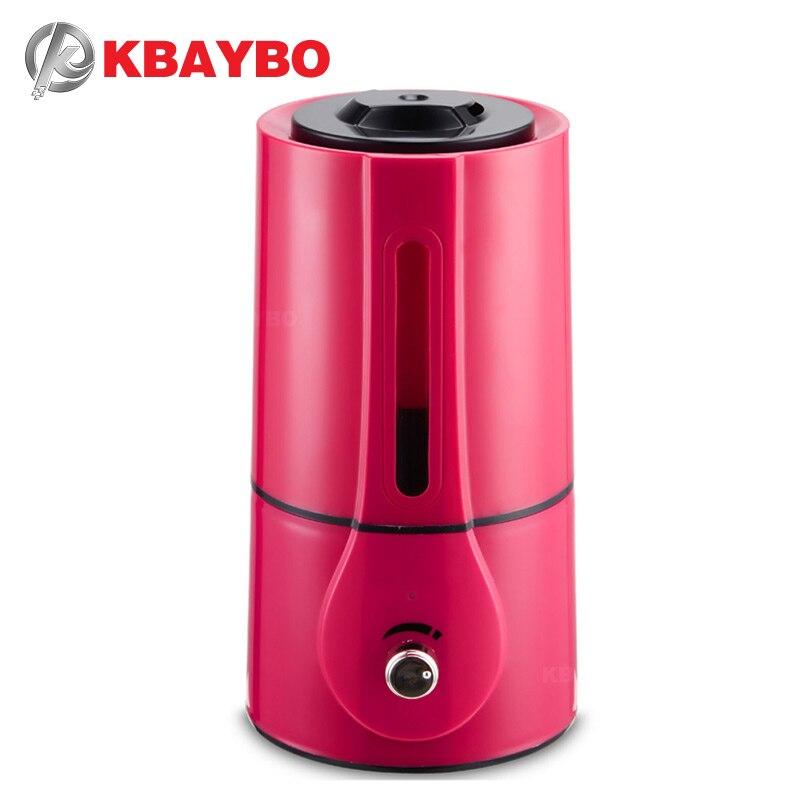 KBAYBO диффузор большая емкость 3L fogger ультразвуковой увлажнитель воздуха Электрический Воздухоочистители Mist чайник для дома