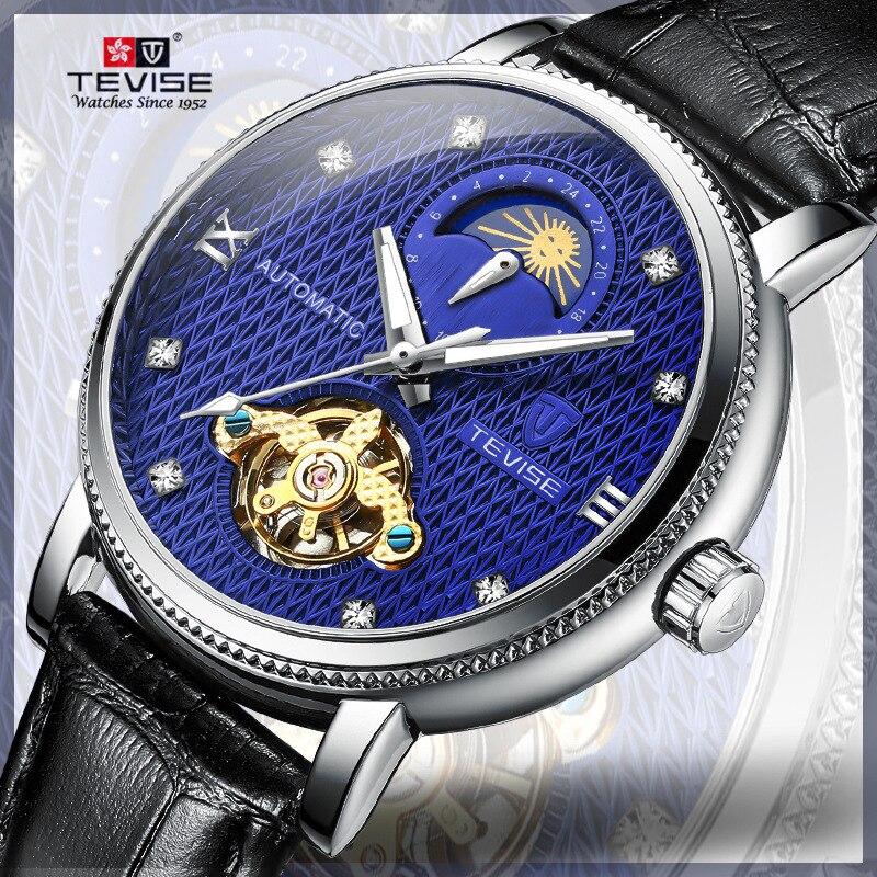 Mechanical   Tourbillon Automatic Watch Waterproof Watch