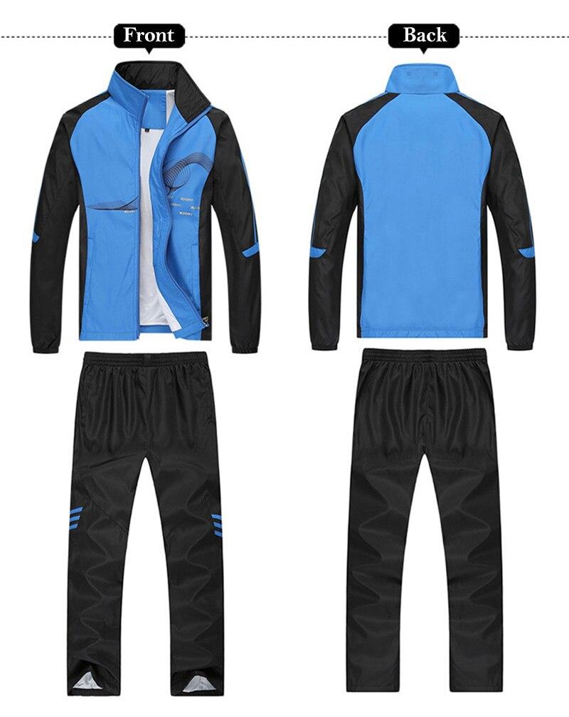 fitness formação ginásio ciclismo agasalho zip bolso jogging terno