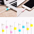 5Pcs/Lot Colorful Saver Protector For Lightning USB Charger Cable Saver Protector for iPhone 5 5s SE 6/6s/6s Plus
