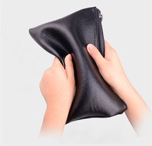 Black Men Clutch Bag 2020 New Vingate Male Wallet Big Capacity Zipper Mens Purse PU Leather Business Man Long Phone Wallets