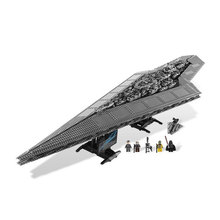 2016 New 05028 Star Wars Execytor Super Star Destroyer Model Building Kit Mini Block Brick Toy Gift Compatible LEPIN 75055