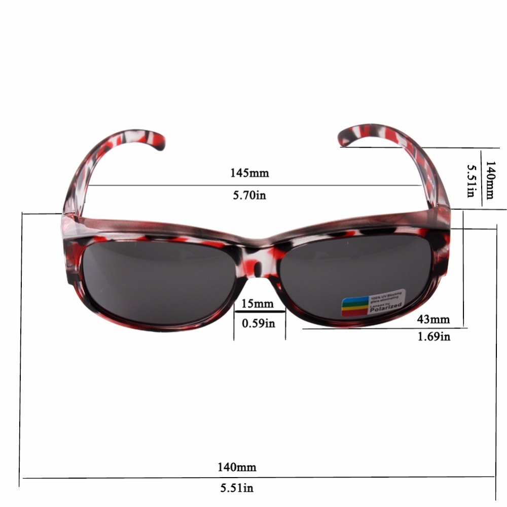 b5300f90f85 Товар NEWEST Polarized Lens Covers Sunglasses Fit Over Prescription ...
