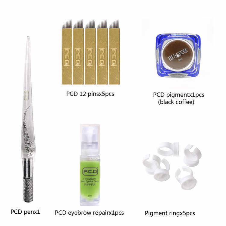 High quality  permanent makeup machine kit for body art tattoo paint